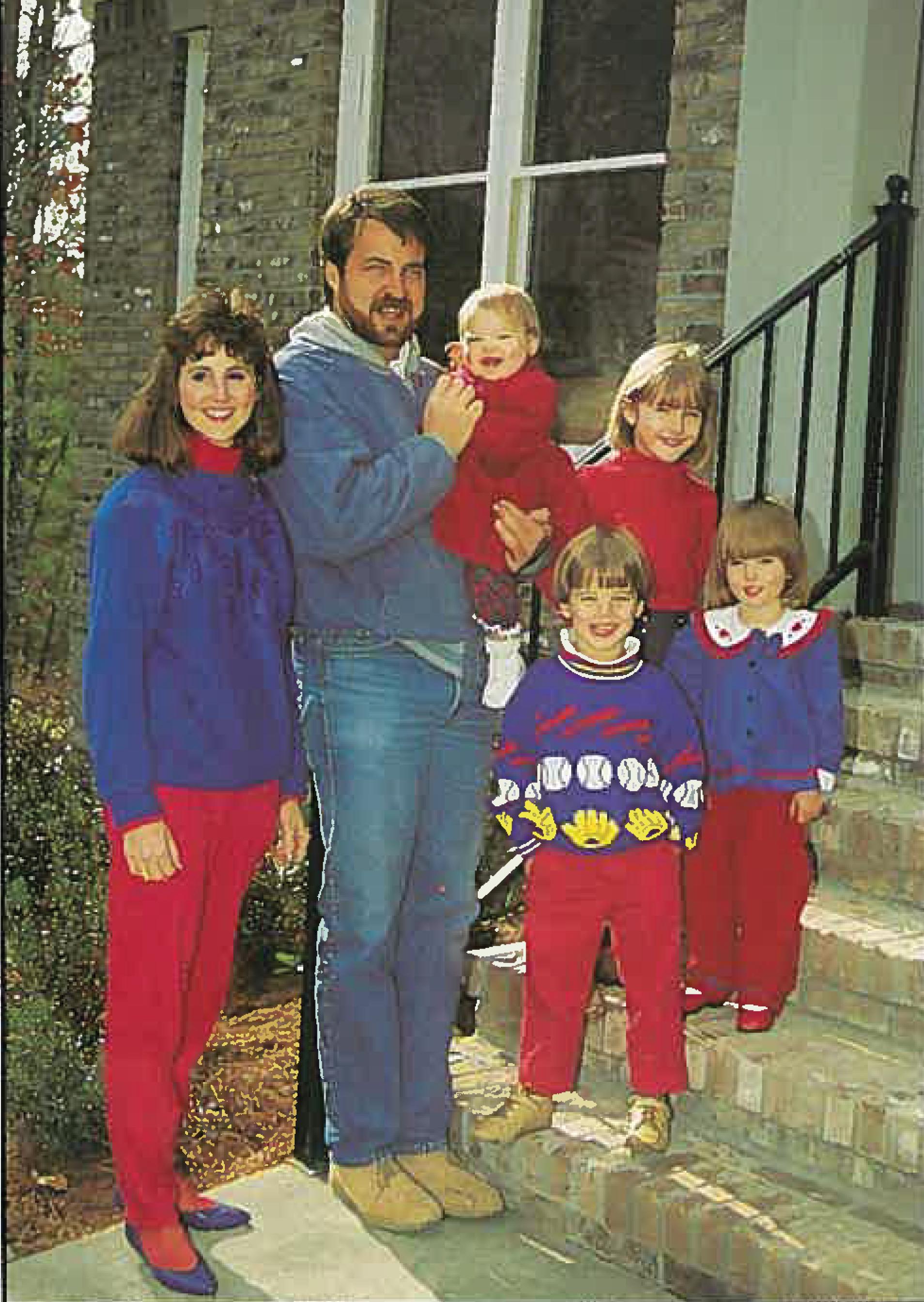 1992 - Brett Winford Family