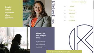 kliebert-law-attorney-website-designed-b