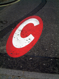 Congestion Charge symbol