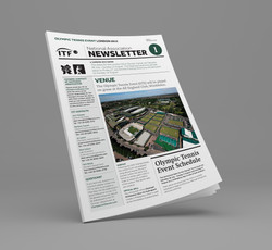 Olympic Tennis Event newsletter