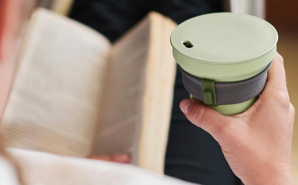 hunu foldable coffee cup