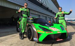 Racing car livery