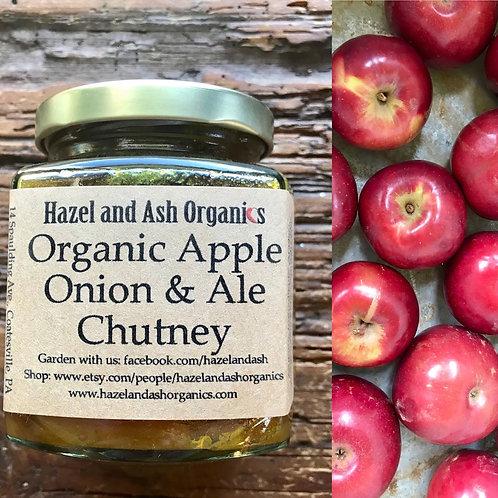 Organic Apple, Onion & Ale Chutney 9oz