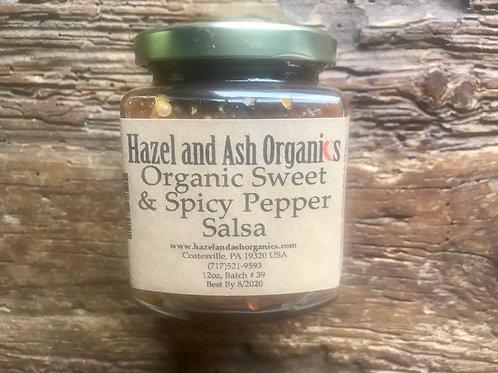 Organic Sweet & Spicy Salsa 9oz