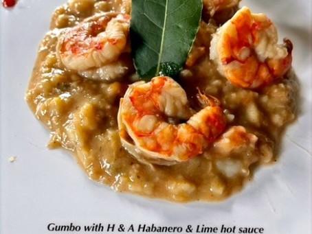 Gumbo with Habanero & Lime hot sauce