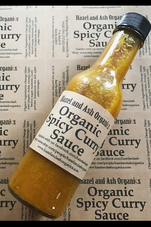 Organic Spicy Curry Sauce