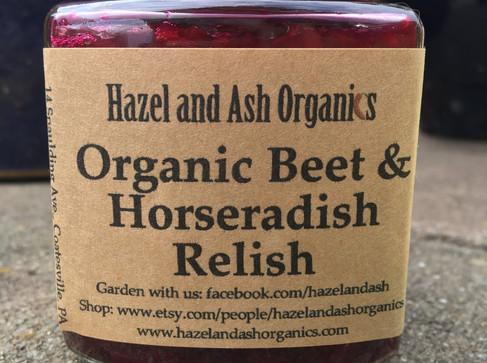 Beet & Horseradish great for Passover