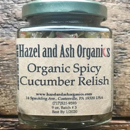 Organic Spicy Cucumber Relish