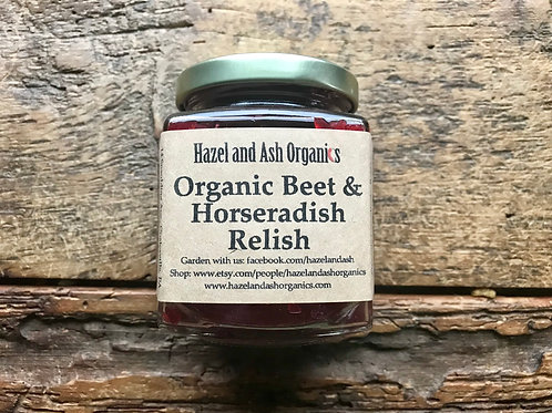 Organic Beet and Horseradish Relish 9 oz