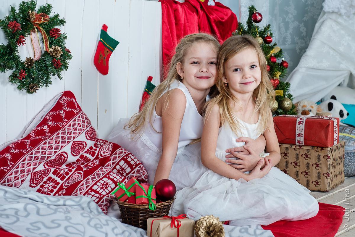 Детская новогодняя съемка