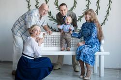 Фотосессия 3 поколения