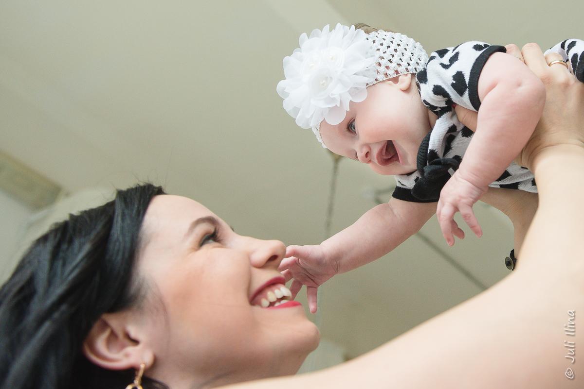 Мама и доча, эмоции