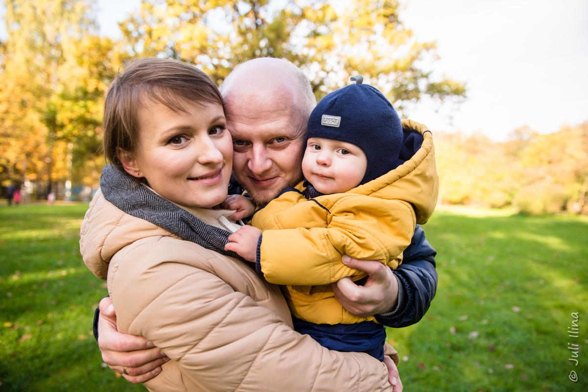 Осенний семейный портрет