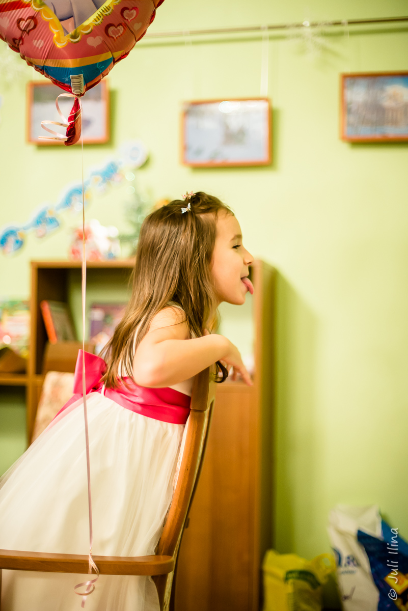 День рождения Арины, 5 лет
