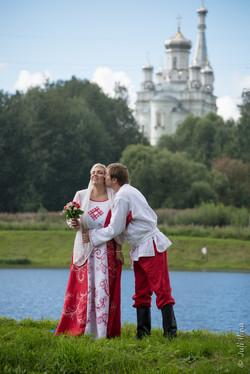 Венчание в русском стиле
