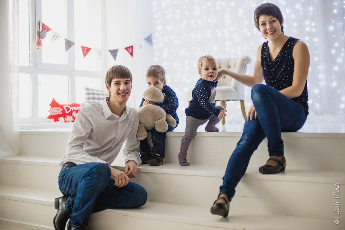 Арина, Вадим, Игорь и Машуня