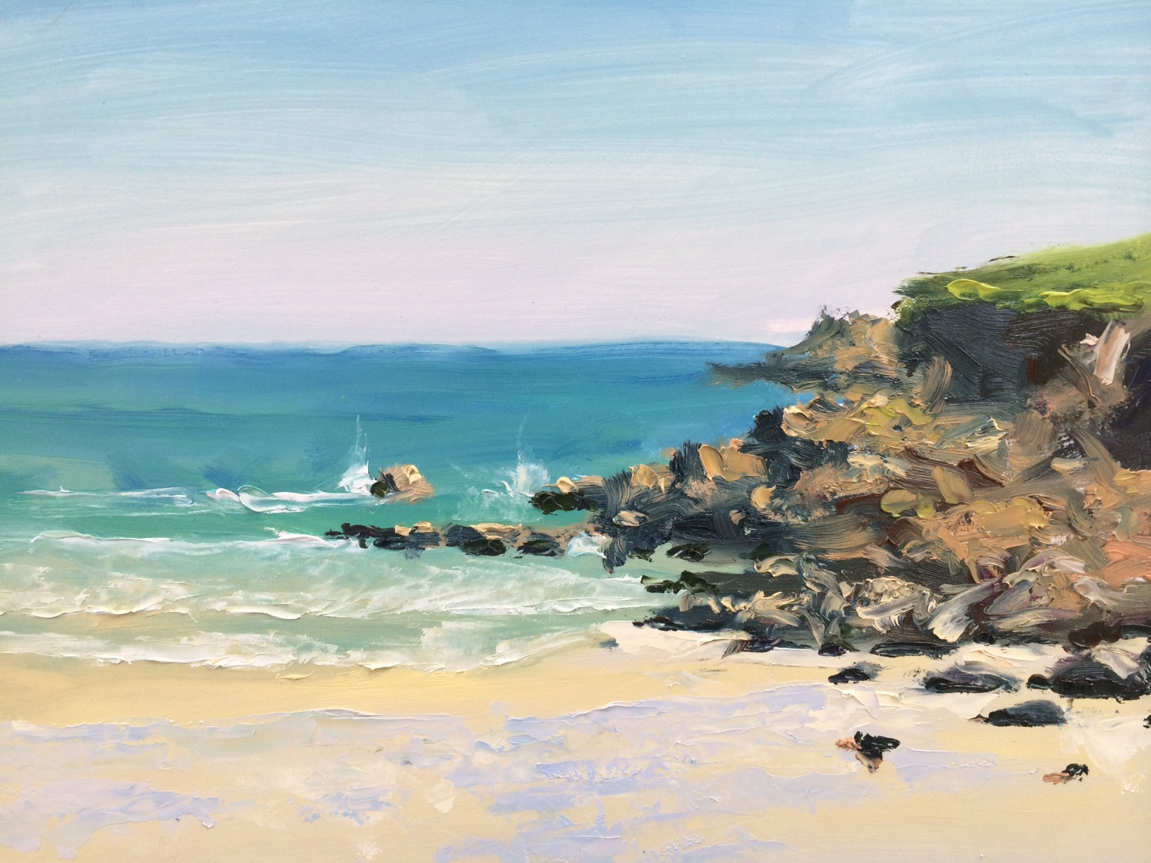 St Ives Porth Meor beach 1