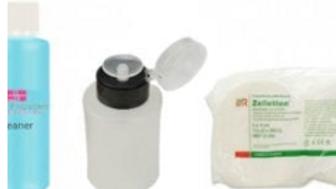 Kit Cleaner 1 lt. + 500 carré de cellulose + distributeur