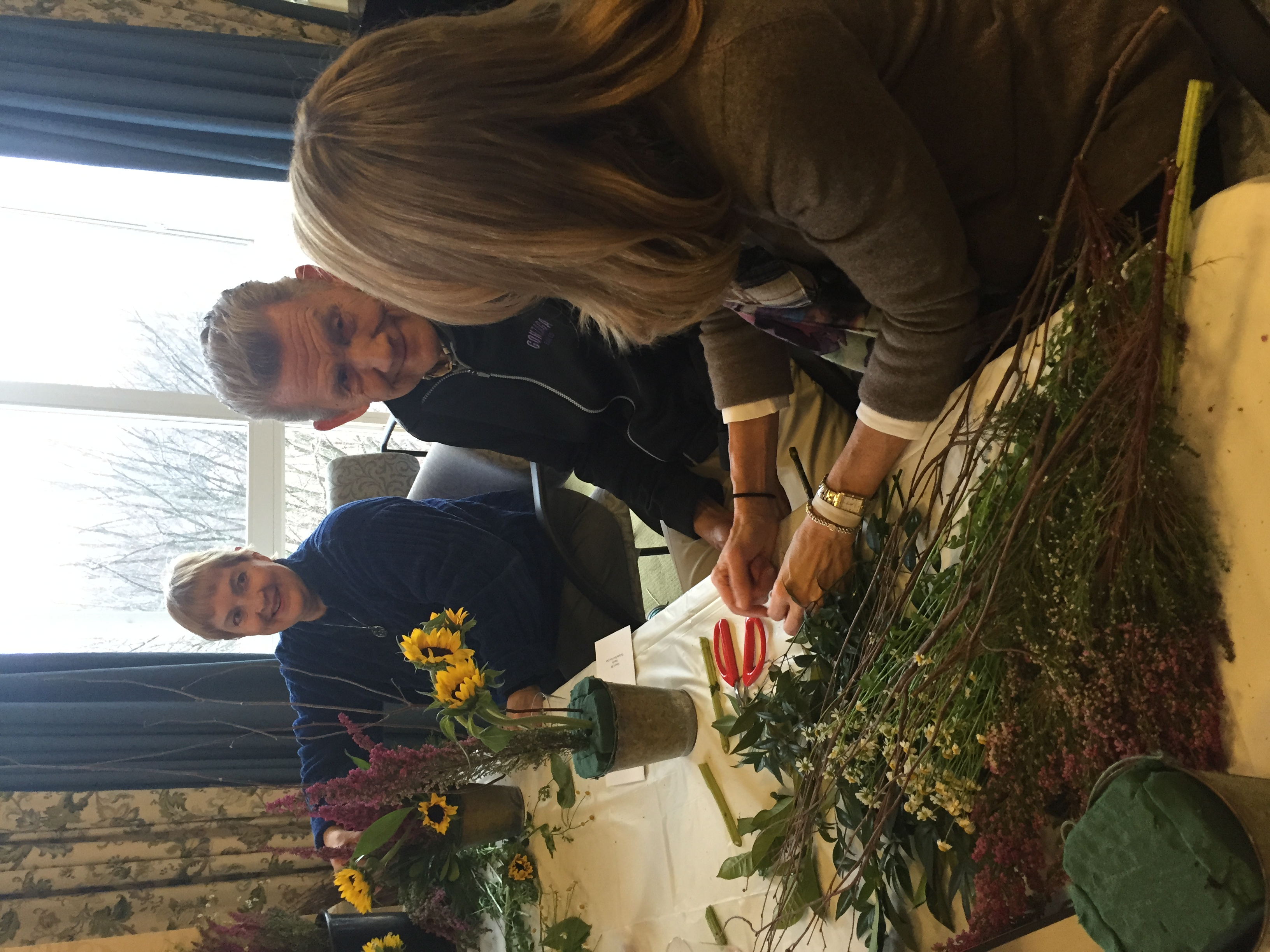 Friendship Terrace Flower Arranging
