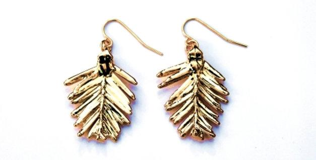 Ohrhänger Redwood Nadeln GOLD