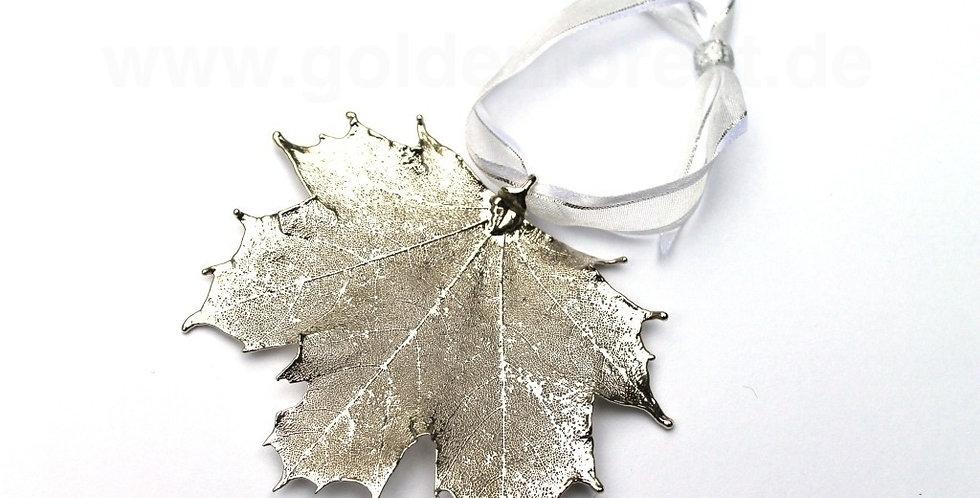 Ornament Ahorn SILBER