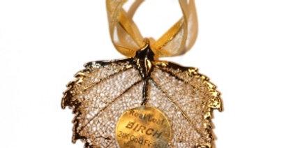 Ornament Birke GOLD
