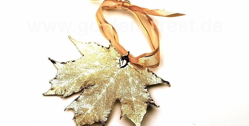 Ornament Ahorn GOLD