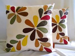Flower pillows