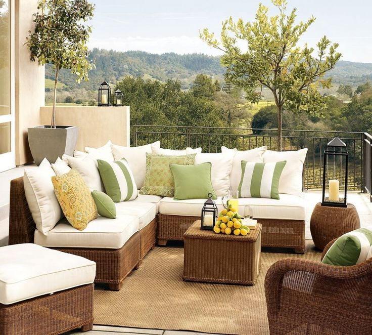 Sunbrella patio cushions