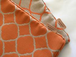 Outdoor sunbrella pillows
