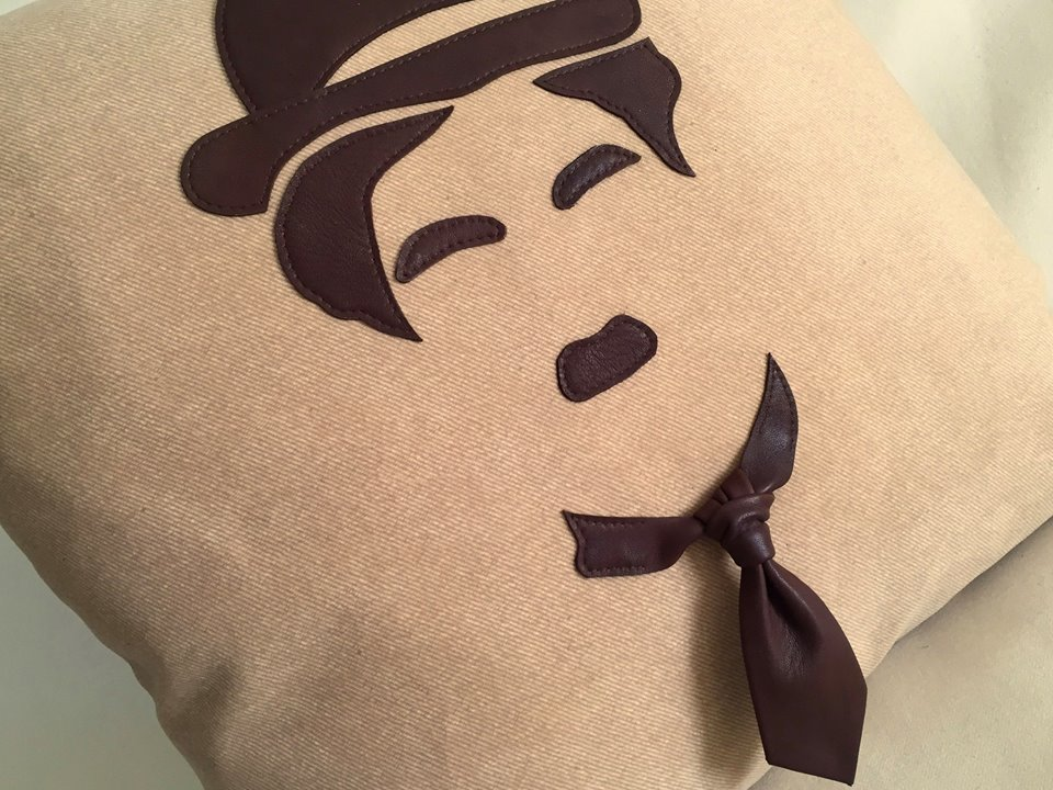 Charly Chaplin pillows