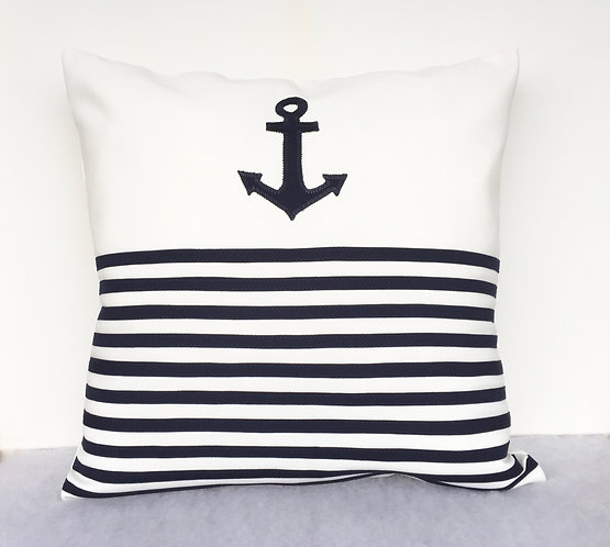 Anchor outdoor pillows
