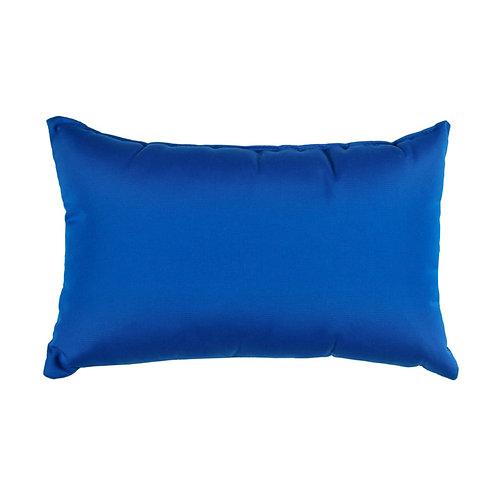 """Sunbrella Canvas Pacific  - pillow cases  12'' x 20"""""""