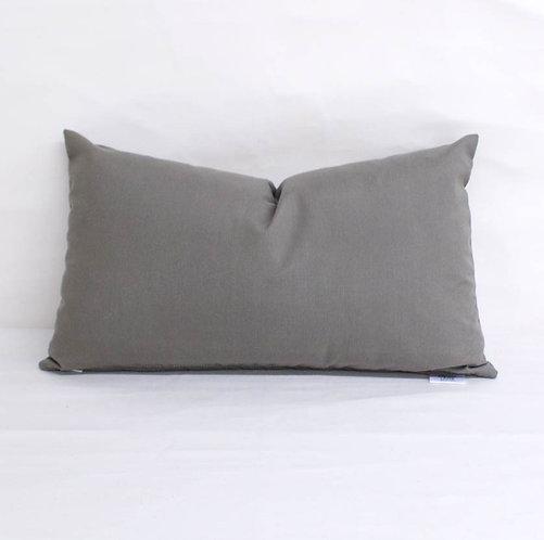 Sunbrella Spectrum Graphite- pillow cases