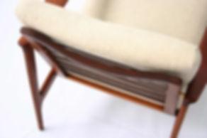 Mid century chair cushions