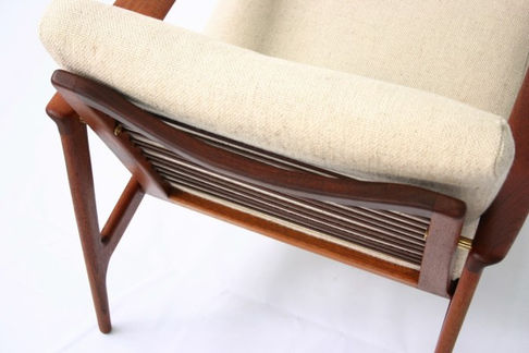 Mid century chair cushions