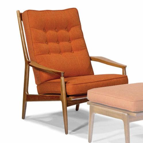 Cushions for Coggin Milo Baughman Archie chair