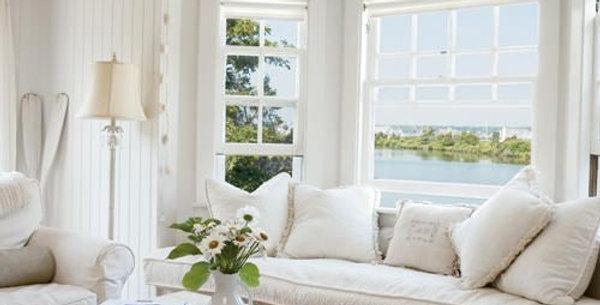 Custom made window seat cushions