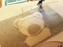 patchwork handmade pillows