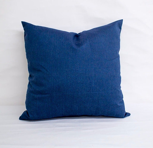 Sunbrella  Spectrum Indigo  - pillow cases