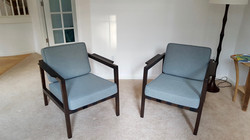 Replacement cushions danish chair