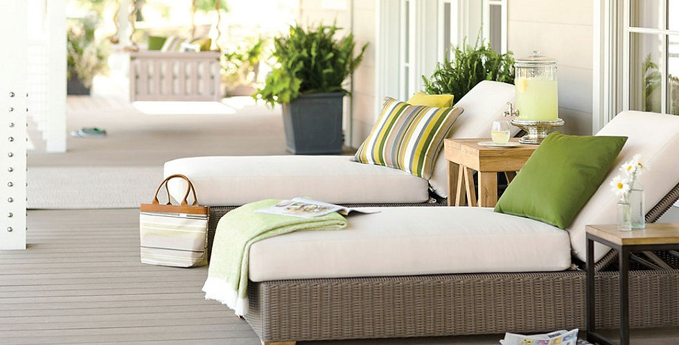 Patio replacement cushions