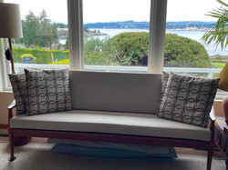 Custom made replacement cushions for sofa
