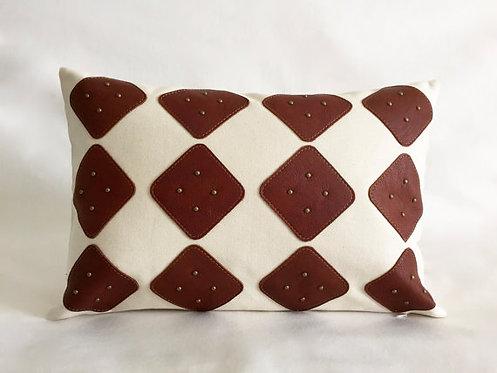 Studded pillows