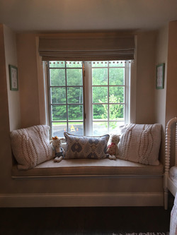 custom made Windows seat cushion