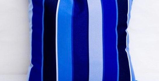 "Sunbrella Milano Cobalt  - pillow cases 20'' x 20"""