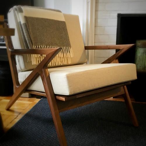 Custom Made Cushions For Danish Chair ...