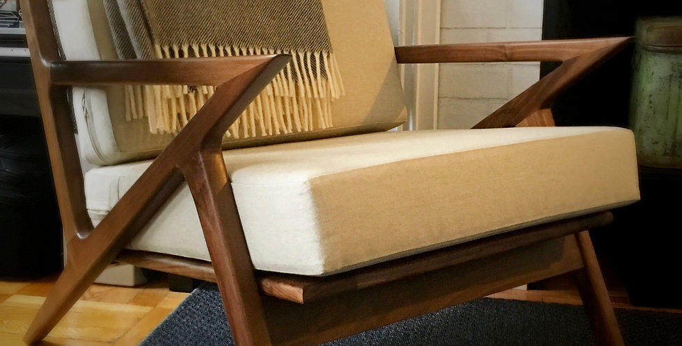 Oatmeal linen replacement cushions