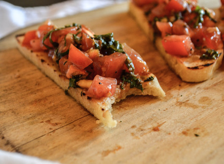 Menu Highlight: Bruschetta