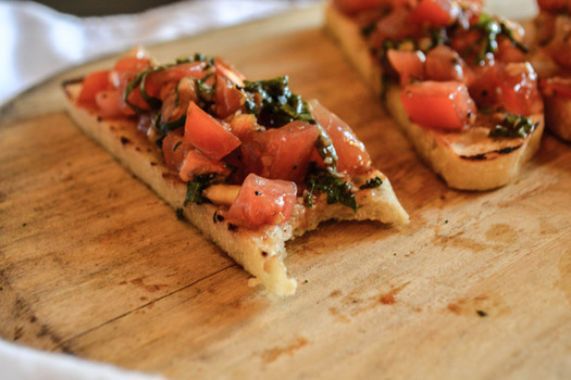 Bruschetta Appetizer at Mutu's Italian Kitchen in Durango, Colorado